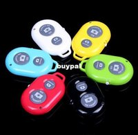 Wholesale Bluetooth Remote Camera Control Self timer Shutter for iPhone S C S for Galaxy S4 Note3 Smartphones and TabletA1A