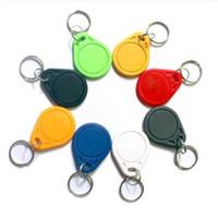 Wholesale 10 MHz RFID IC Key Tags Keyfobs Token NFC TAG Keychain Waterproof Anti corrosion Shockproof