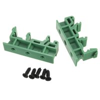 Wholesale Excellent quality set of Simple PCB Circuit Board Mounting Bracket For Mounting DIN Rail Mounting x Adapter x Screws