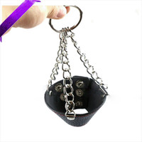 cock ring leather - Leather Parachute Ball Scrotum stretcher Rings Fetish Set mm Ball Stretcher Weight Extra Balls BDSM CBT Cock Stretchers Sex Toys