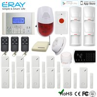 door emergency - New Arrival SOS Emergency Alarm System High Quality Wireless LCD GSM SMS Home Security Alarm System Sale Online M2C C
