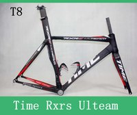 Wholesale Time Rxrs Ulteam Carbon Bicycle Frames T800 k Carbon Fiber Bike Parts Bicycle Size Seatpost Fork Clamp Headset