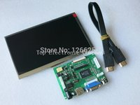av display lcd - inch Raspberry Pi TN LCD With HDMI VGA AV Screen Display Module HDMI to HDMI interface cable