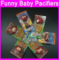 baby shower novelties - 30ps JOYFULY Nipples Funny baby shower Pacifier Lips Novelty pacifiers weddig Christmas gifts