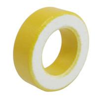 Wholesale FS Hot mm x mm x mm Yellow White Iron Core Ferrite Rings Toroid order lt no track