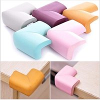 Wholesale Soft Baby Safty Corner cushions Protector Baby Kids Table Desk Corner Guard Children Safety Edge Guards mm