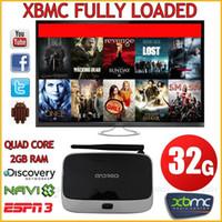 Wholesale Android Smart TV BOX XBMC Fully Loaded Quad Core GB WIFI P HDMI Media
