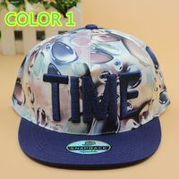 Wholesale FASHION TIME EMBROIDERED STINGY BRIM HATS MEN WOMEN Knit Hats And Snapback Caps SPRING Winter