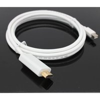 Wholesale 3Meter Cable For A pple Macbook FT Displayport DP to HDMI HD TV PC LCD Laptop