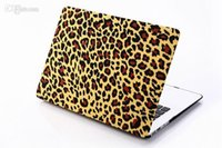 Wholesale Pattern Leopard American British flag Design Matt Hard Case Rubberized Cover for MacBook Air inch