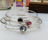 Wholesale Wiring Bracelet For Beading Or Charms Alex And Ani Style Expandable Bangles Accessories Metal Bracelets