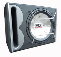 Wholesale Mtx active trapezoidal with amplifier car subwoofer mtx overweight subwoofer