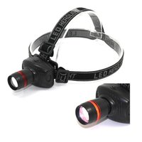 achat en gros de phares à vendre-Hot vente Sports de plein air sportifs Randonnée Camping 3W Mini-phares 500 Lumens Phares Lampe tête de la torche C40 Livraison gratuite LED