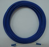 armored cable - Fiber Optic Patch Cord Cable LC LC Singlemode Armored Simplex mm m Blue Jacket