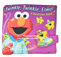 Wholesale for piece D Elmo goodnight book cloth fabric baby baby s first book infants educational cognitive learning toys