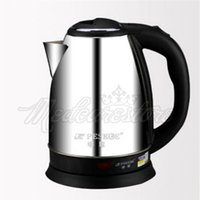 Wholesale New Stainless Steel Electric Tea Kettle Liter Hot Water Boiler Heater Pot Auto power off