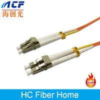 Wholesale Fiber Optic Patch Cord Pigtail LC LC Multi mode Duplex mm Meters HCF Brand Factory Direct