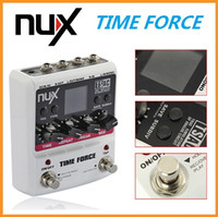 Wholesale NUX TIME FORCE Multi Digital Delay Effects Electric Guitar Effects Pedal Guitarra Guitar Tuner Accessories Instrumentos Musicais