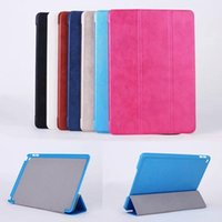 Wholesale For Apple iPad Air Luxury Folding Retro Book Style PU Smart Leather Protective Case Cover With Stand Holder For iPad