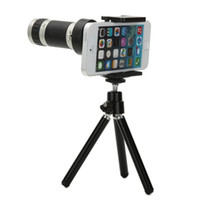 Wholesale Universal phone telescope X zoom lens distant shooting for iphone s s plus Samsung S5 S6 edge xiaomi phone