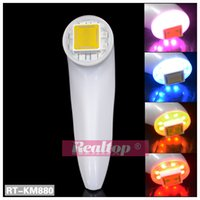Wholesale Newest mini Color LED photon RF Dot Matrix RF Thermagic RF Facial skin rejuvenation wrinkle removal machine