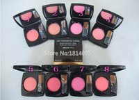 Wholesale New Famous Brand High Quality Makeup New joues poudre POWDER BLUSH With brush g