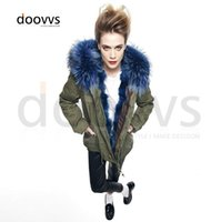 Cheap wholesale price winter coat parka Best big collar real liner parka