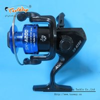 Wholesale Fishing reels small reel front drag spinning reels BB feeder coil fishing tackle SH A3 without fishing rod