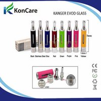 Cheap 2014 hot selling original kanger tech evod glass atomizer kanger clearomizer wholesale with free shipping