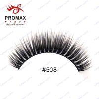 Wholesale High Quality PROMAX False Eyelashes Pair Handmade Fake Eye Lashes Thick Natural Long Eyelash Extension Professional Makeup
