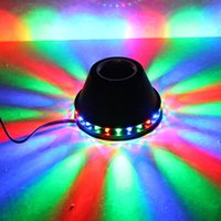 ac portable speaker - 5W Auto Flashing Portable Bluetooth Speakers RGB Stage Light with V V AC Power Plug For KTV Home Stage Disco Party
