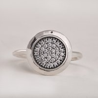 Wholesale Rings Compatible with Pandora Jewelry Signature Silver Ring New original Sterling Silver jewelry Ring