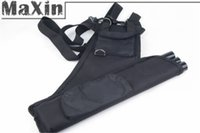 arrow shooter - Archery Arrow Three Tube Quiver Holder with Back Waist Belt Black Color for Right Hand Shooters
