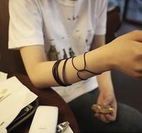 Wholesale Jang Keun Suk Korean Hongying Qi fluorescent color luminous silicone rubber bracelet hand ring hair band rubber band WY111 p