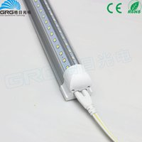 Wholesale NEW Integrated m ft W Led T8 Tube Lights SMD2835 Leds High Bright lm Warm Cool White Frosted Transparent Cover V