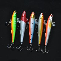 Wholesale CM14 g Minnow Lure Bait Tackle largemouth fish five colors of sequins simulation bait HT021