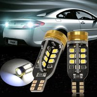Wholesale TKOOFN xWhite Xenon Canbus W16W T15 SMD LED Backup Reverse Bulbs Light Lamp