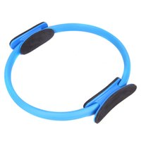 Wholesale Fashion Colors Yoga Circle Slimming Pilates Ring Magic Fitness Circle for Woman Beauty Health DHL Y0845