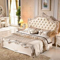 Wholesale European Bed French bedroom furniture princess bed m manufacturers take samples