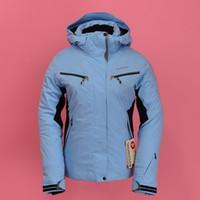 Wholesale New rossignol womens winter outdoor skiing jackets snowboard Skiwear Snow wear Thicken thermal wear waterproof windproof
