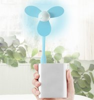 Wholesale Free DHL Mini USB Fan Cooling Small Fan for Notebook Computer and power bank leaves ventilador