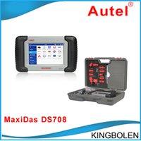 Engine Analyzer maxidas ds708 - Free Shippping Genuine Autel MaxiDas DS708 auto Diagnostic Scanner For America European Asian Cars online update
