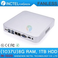 best firewall - Home firewall best quality aluminum fanless mini pc computer
