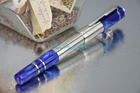Wholesale PURE PEARL MB SPECIAL High Quality Stationery Ocean Blue Color WILLIAM FAULKNER Special Edition Roller Ball Pen