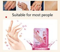 Wholesale HOT Selling pairs Skin Care Exfoliating Hand Mask Moisturizing Gloves Spa Soften Skin White Moisturize Repair Gloves DH