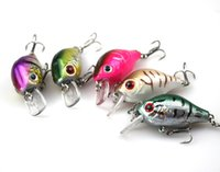 Wholesale 5 cm g Fishing Hard Bait with Fishing Hooks new sales Fishing Tackle Lure D Eyes
