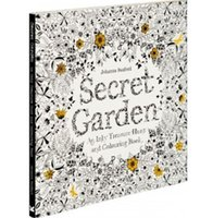 coloring book - Secret Garden An Inky Treasure Hunt and Coloring Book by Johanna Basford Pbk