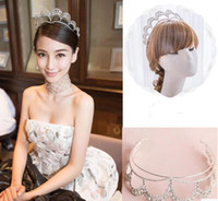 Cheap china's Kim Kardashian wedding crowns Best angelababy wedding crowns