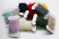 assorted thread - Assorted Color Cards Meters Fly Tying Ice Dubbing Thread Nymph Tying Fly Fying Materials