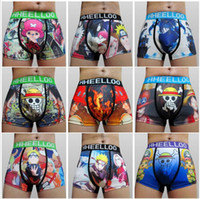 animated shorts - 2016 High quality Animated cartoon wide brimmed men s boxer underwear underwear men s boxer shorts